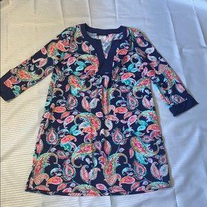 Women's multicolor sun dress